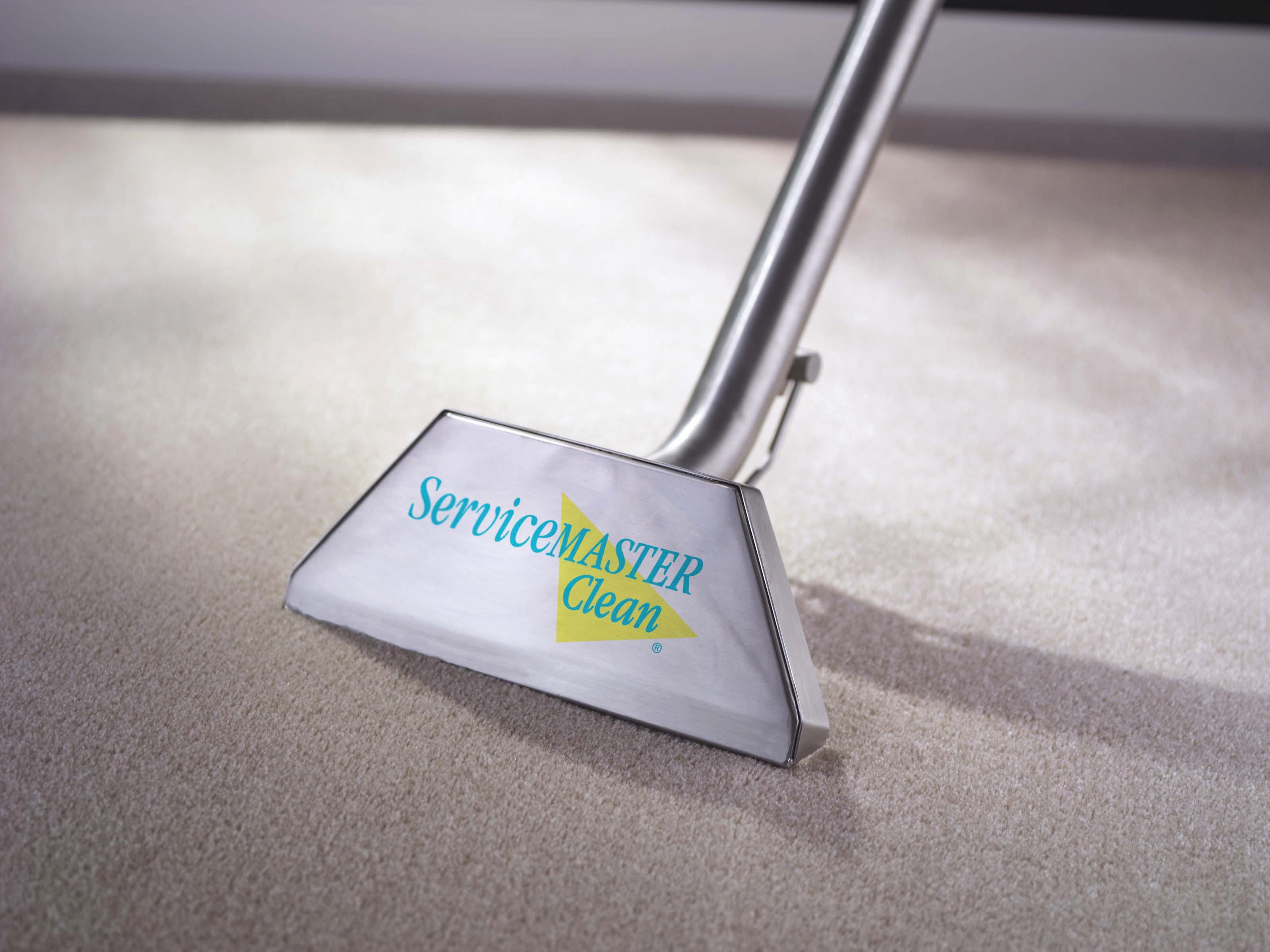 Floor vacuum on floor
