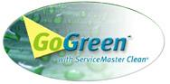 """""""Go Green,"""" logo"""
